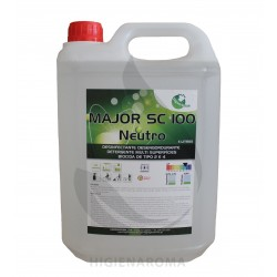 Desengordurante bactericida e fungicida - MAJOR SC100 5L