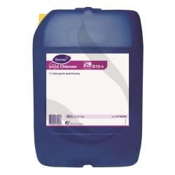 Detergente Desinfetante Clorado Virucida - SUMA CHLORSAN D10.4