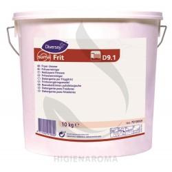 Pó para limpeza de sujidades difíceis e/ou carbonizadas - SUMA FRIT D9.1 10KG