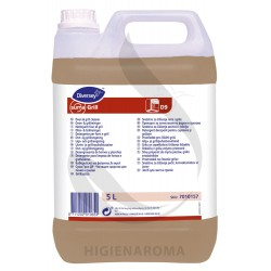 Detergente para limpeza de fornos e grelhadores - SUMA GRILL D9