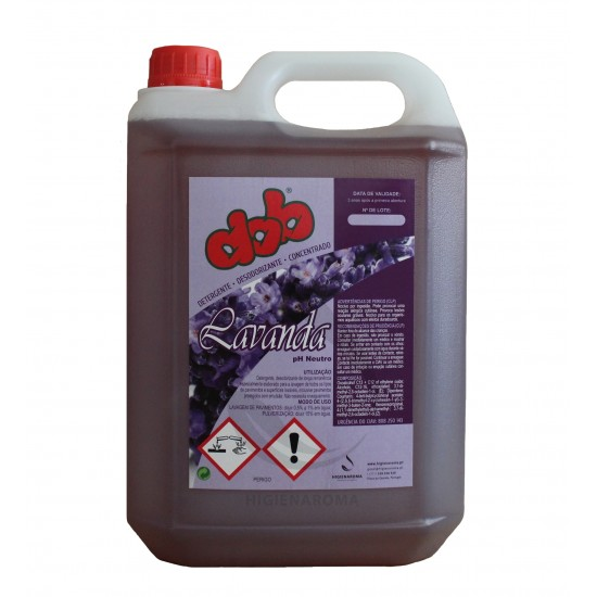 Detergente concentrado para pavimentos de alta remanência- DOB LAVANDA