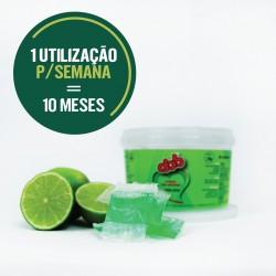 Detergente em unidose ultra-concentrado de alta remanência para pavimento - DOB UNIDOSE LIMÃO VERDE