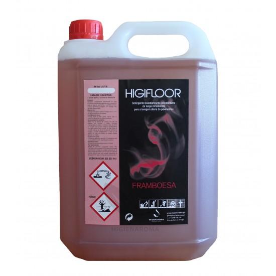 Detergente Desinfetante Odorizante de alta remanência para pavimentos  - HIGIFLOOR FRAMBOESA