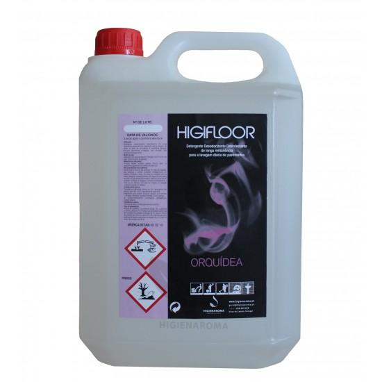Detergente Desinfetante Odorizante de alta remanência para pavimentos  - HIGIFLOOR ORQUÍDEA