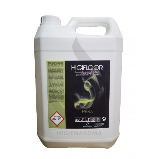 Detergente Desinfectante Odorizante de alta remanência para pavimentos  - HIGIFLOOR PERA 5L