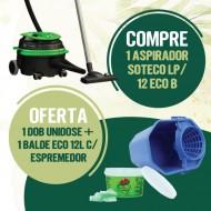 PACK PROMO MAIO - ASPIRADOR SOTECO LP 1/12 ECO B 900W